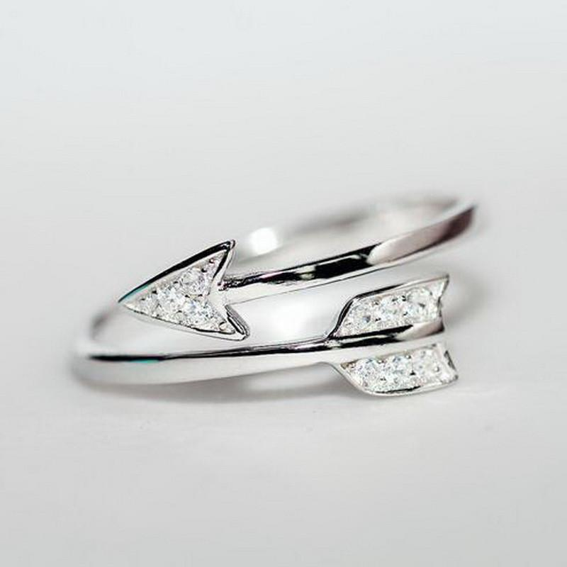 925 Silver Cupid Arrow Ring Special
