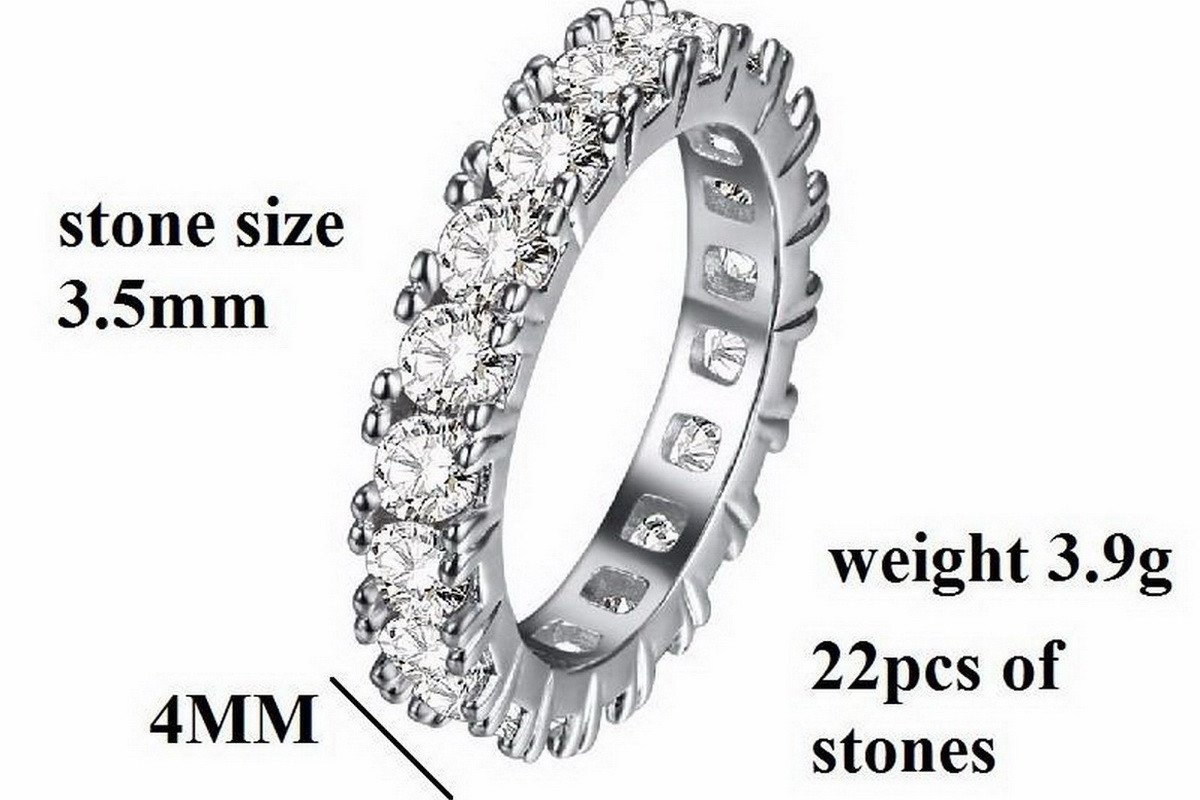 Luxury Crystal Eternity Ring Special