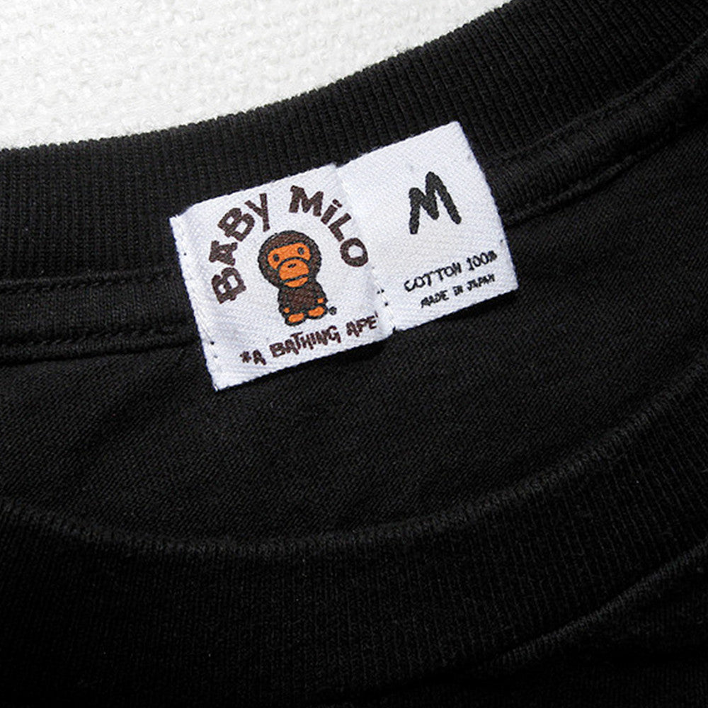e15484d92 Details: Can be found attached underneath the tags of nearly all Bape  items. Comments: Should not be used to determine authenticity.