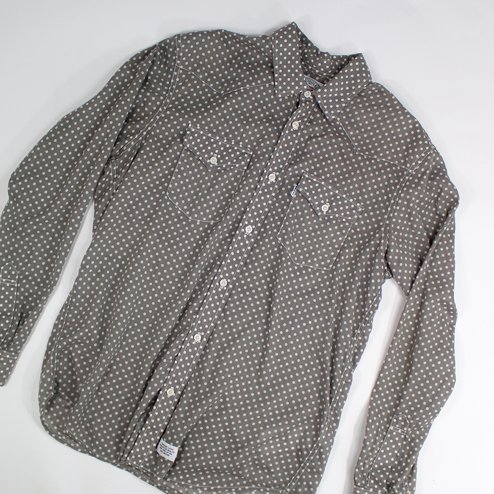 Supreme x Levi's, Dotted Button up - Sz. M