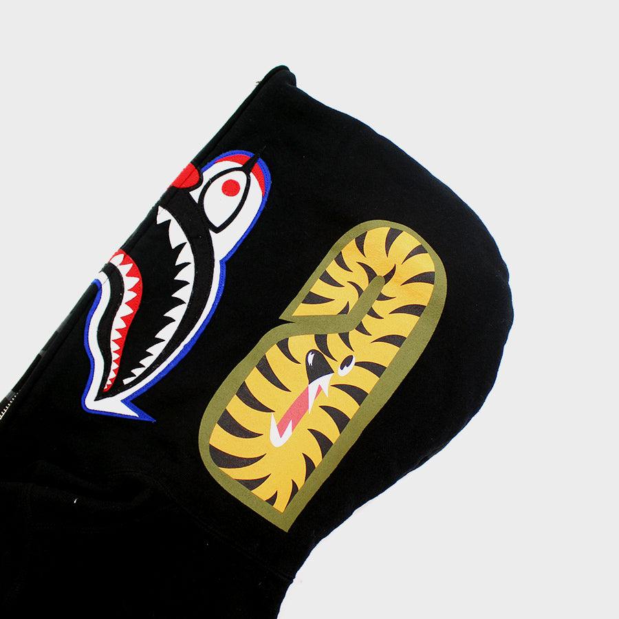 BAPE, Undefeated Collab Shark Full Zip Sz. M