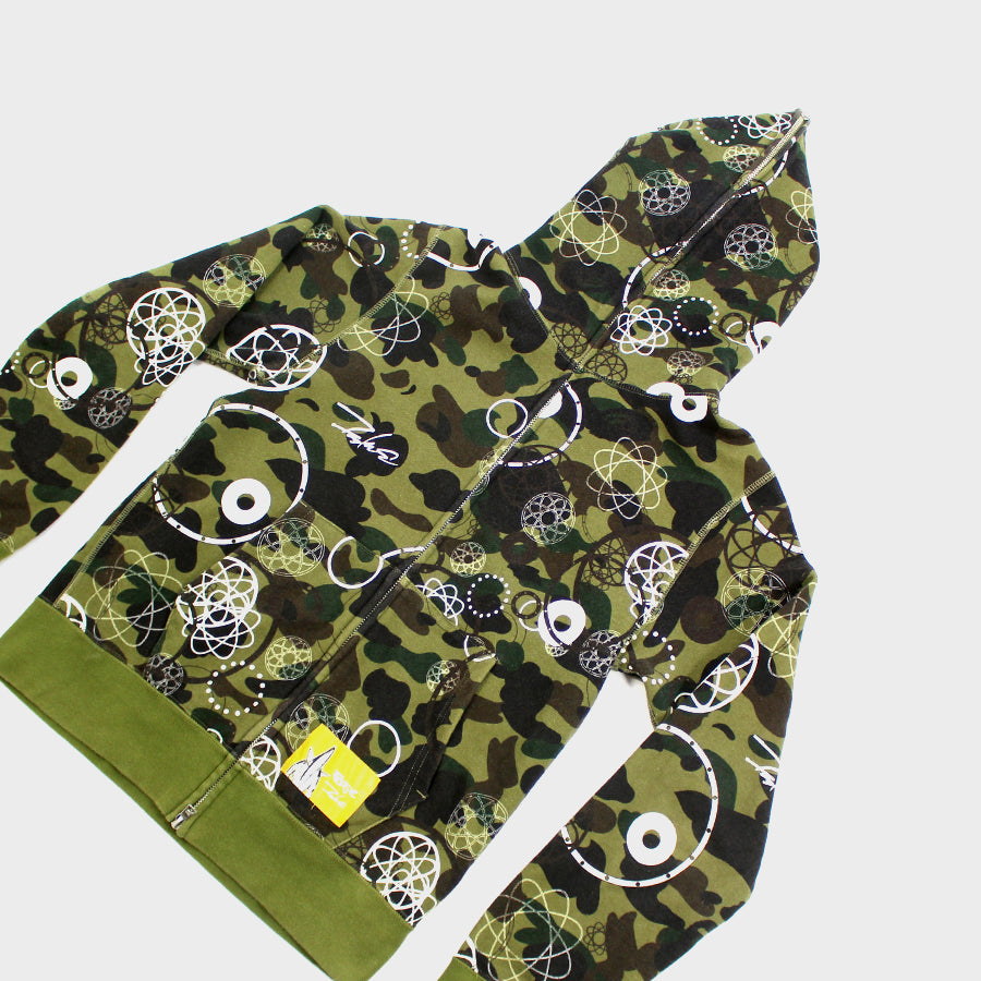 BAPE, Futura Collab Full Zip Sz. M