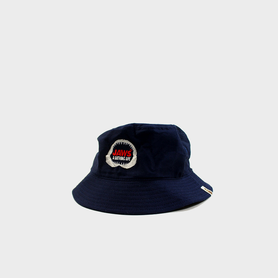 BAPE, Navy Jaws Bucket Hat