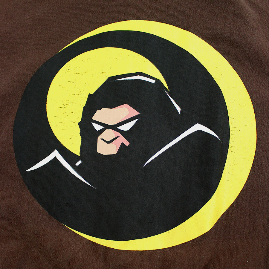 BAPE, Brown Incredibles Logo Zip Up Hoodie Sz. M