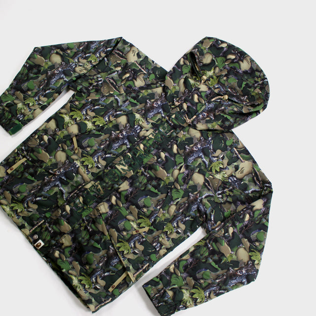 BAPE, Tree Camo Snow Jacket Sz. L
