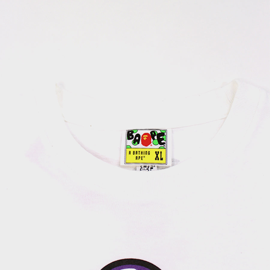 Bape, White Dragon Ball Z Frieza Tee Sz. XL