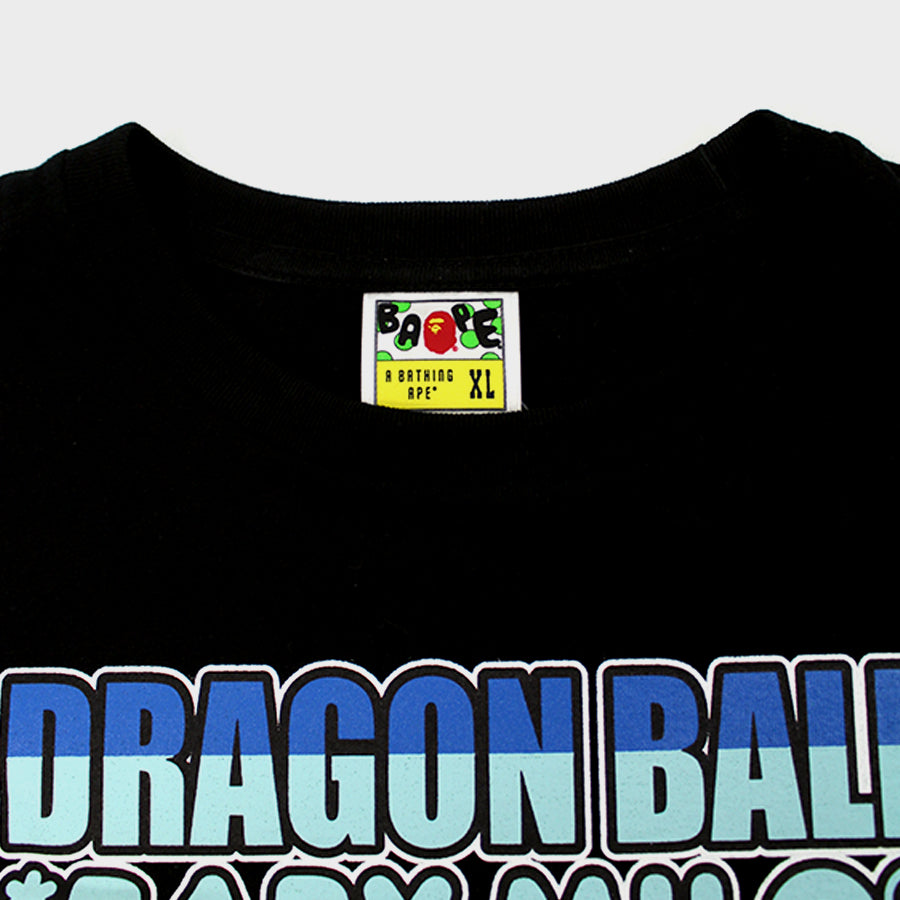 Bape, Black Dragon Ball Z Tee Sz. XL