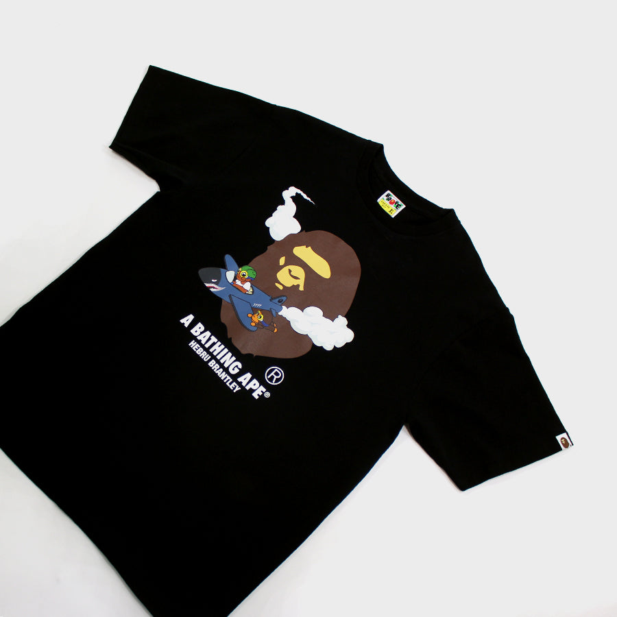 BAPE, Black Hebru Brantley Tee Sz.XL