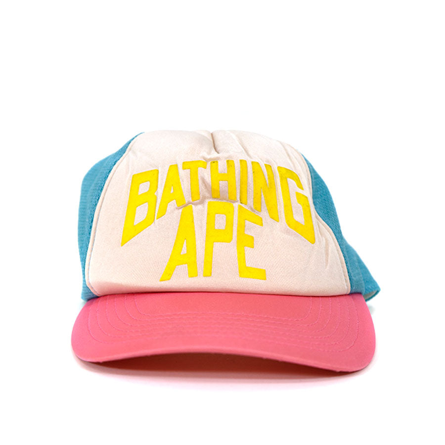OG BAPE Cotton Candy Trucker Hat