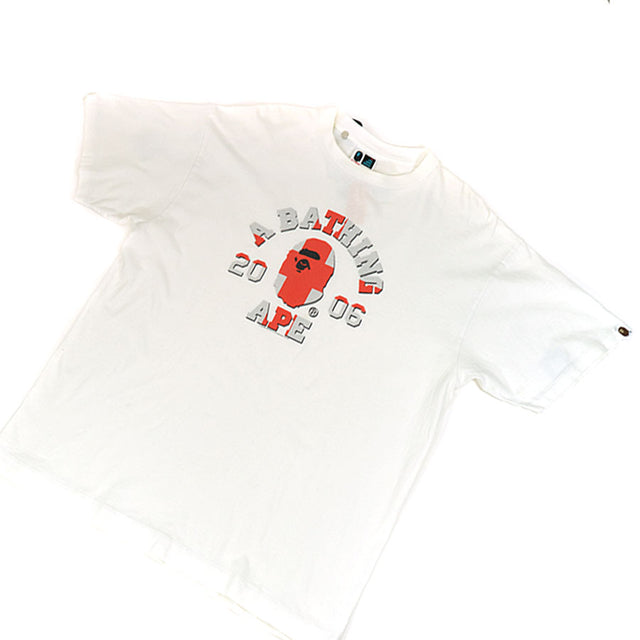 OG Bape Switzerland Flag College Logo Tee