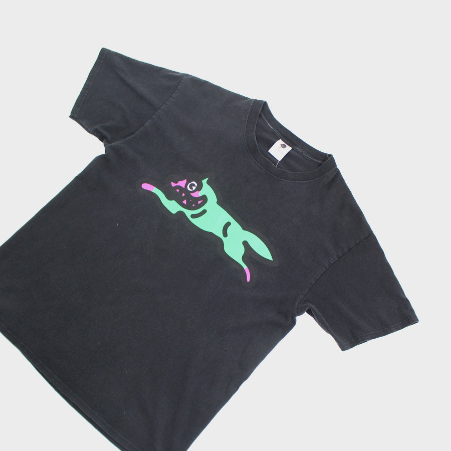 Ice Cream, Black Running Dog Tee Sz. L