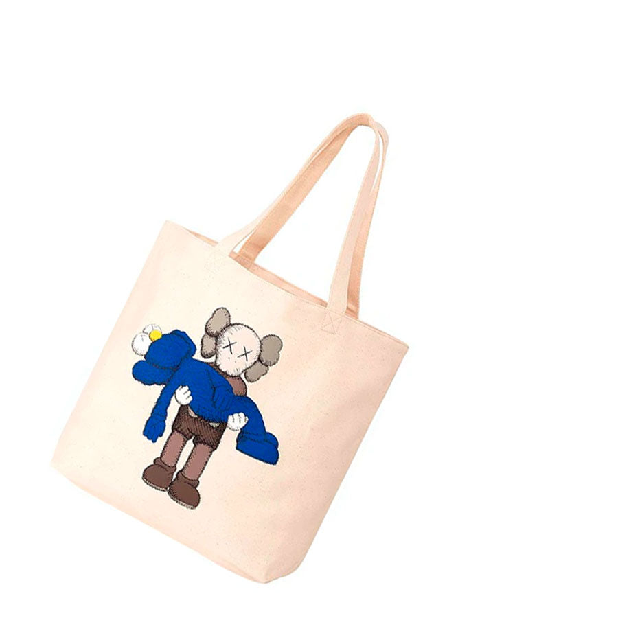 KAWS Uniqlo Holiday Tote Bag #1