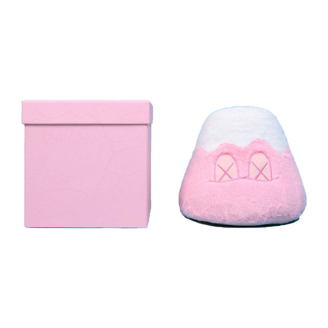 KAWS Japan Exclusive Holiday Mt Fuji Plush (Pink)
