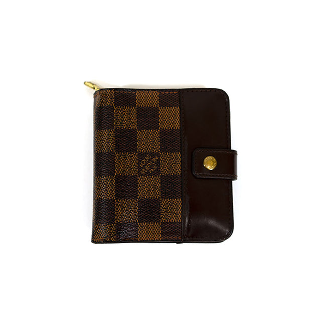 Louis Vuitton Vintage Damier Bifold Zip Wallet