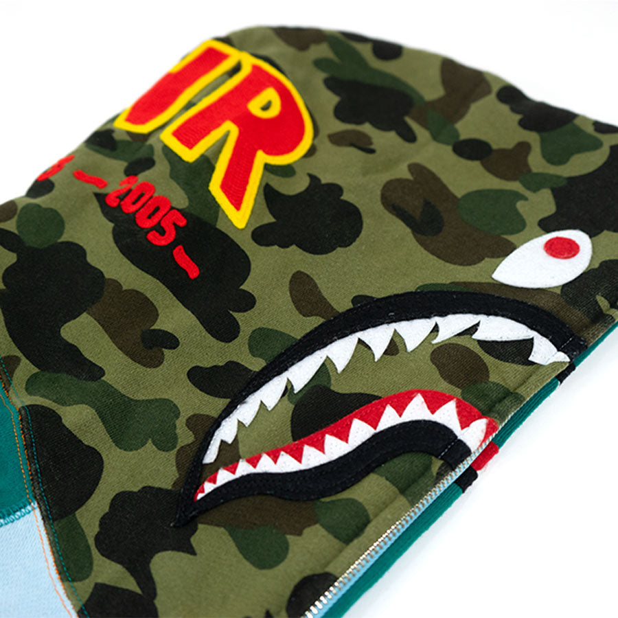 BAPE Multi-Color Shark Full Zip Hoodie