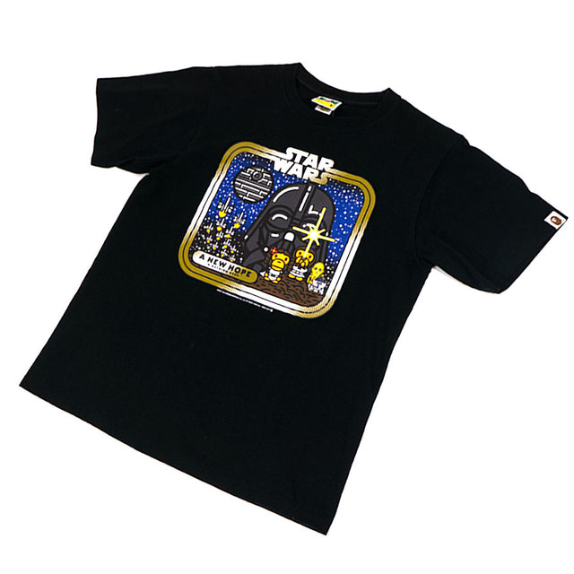 Bape Baby Milo Star Wars New Hope Tee Sz. M