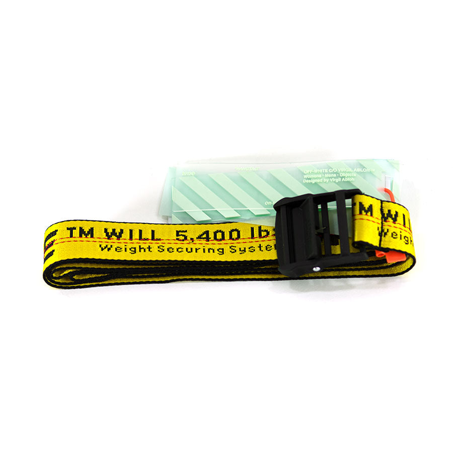 OFF WHITE, Yellow Industrial Belt