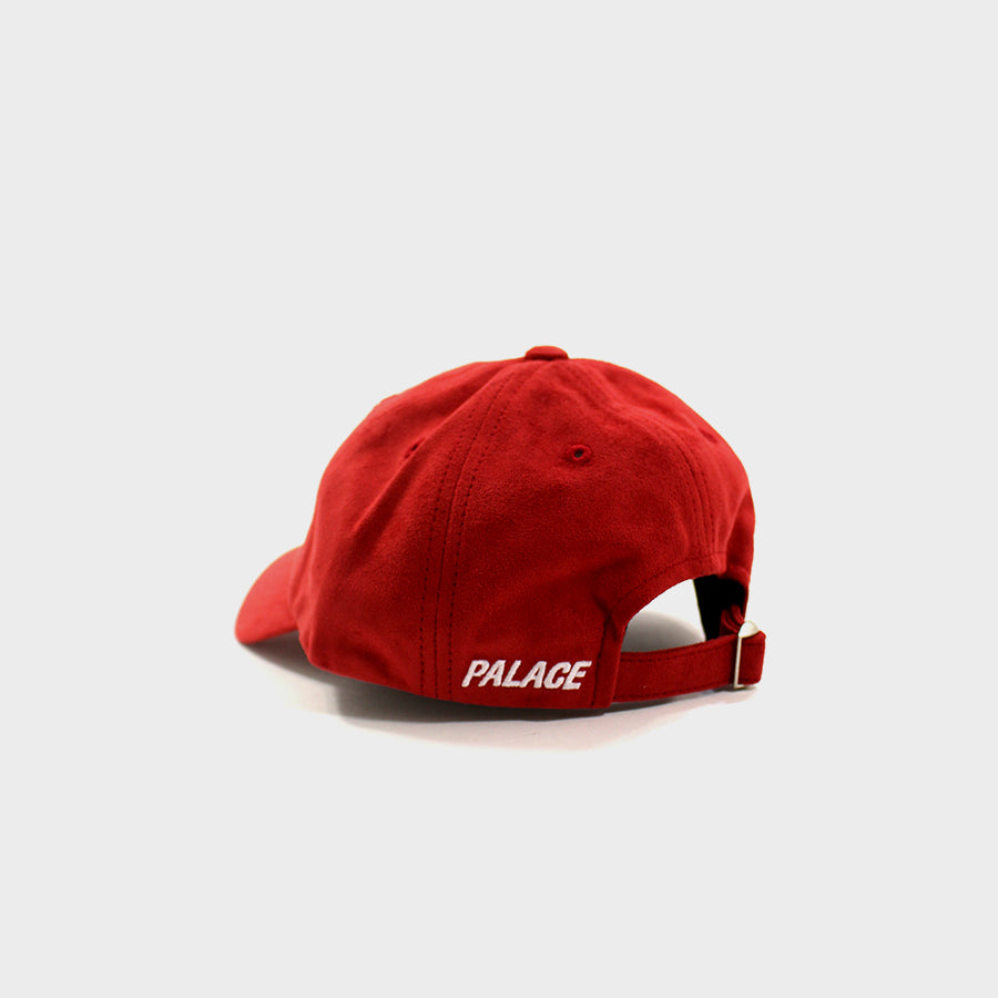 PALACE, Red Suede Hat Sz. OSFA