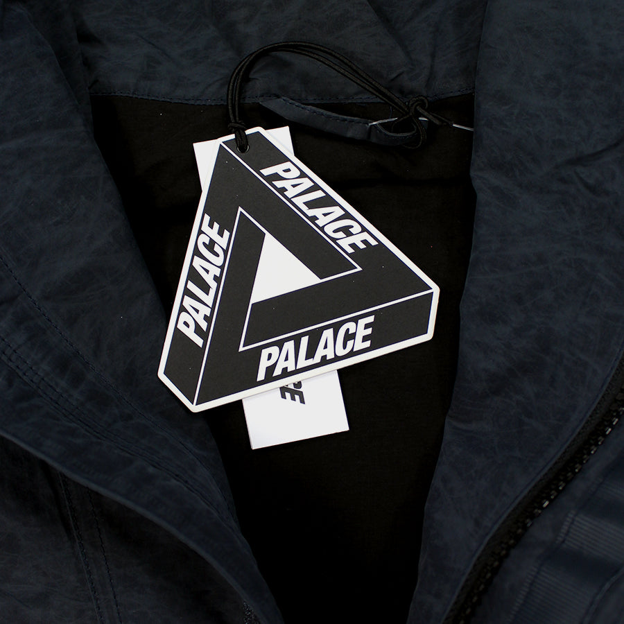 PALACE, Black Waxer Jacket Sz. M