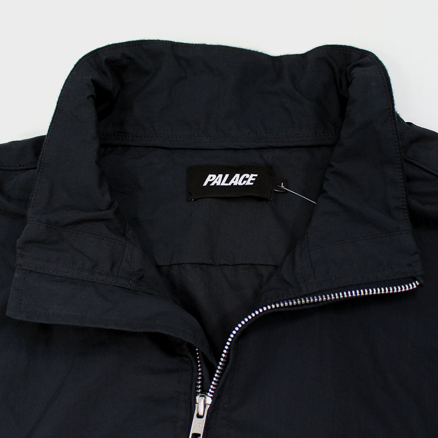 PALACE, Black Mini Logo Bomber Sz. L