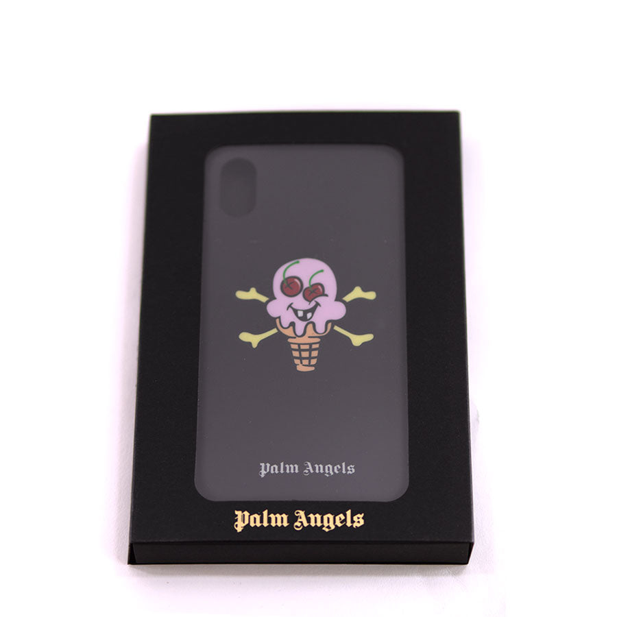 Palm Angels, Ice Cream Black iPhone X Case