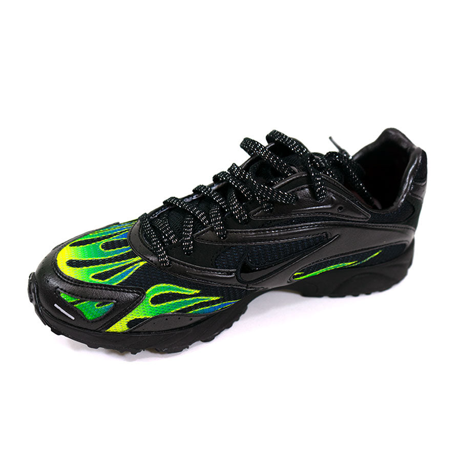 Supreme Nike Zoom Streak Spectrum Plus Black/Green Sz. 8.5