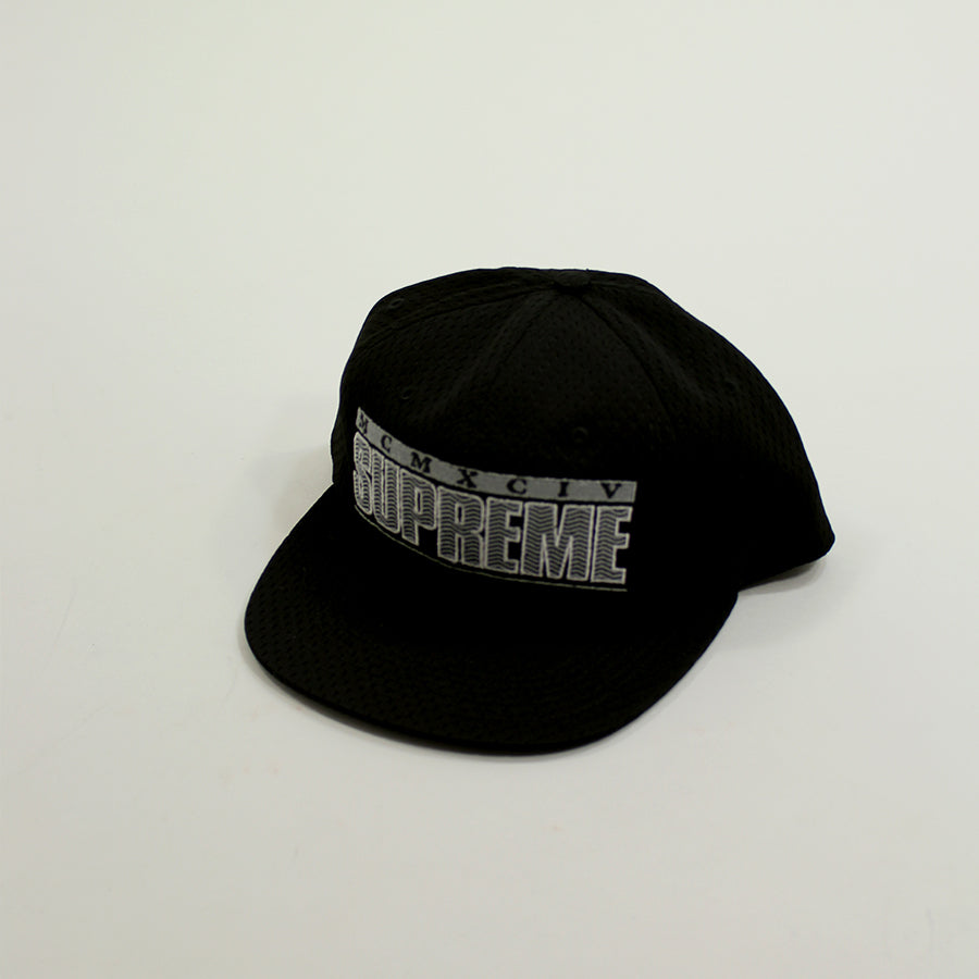 Supreme, Black ZigZag Hat