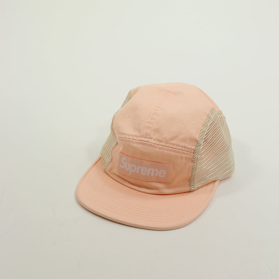 Supreme, Peach Mesh Side Panel Camp