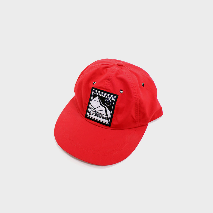 Supreme, Red TNF Steep Tech 5-panel