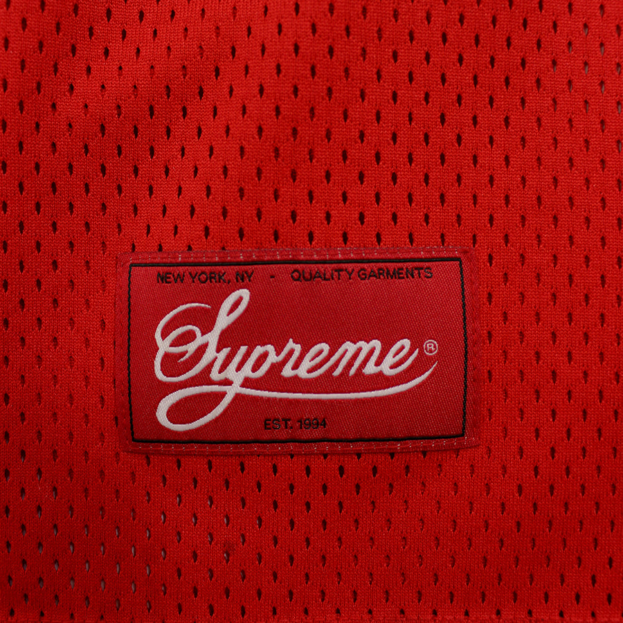 Supreme, Red Basketball Jersey Sz. M