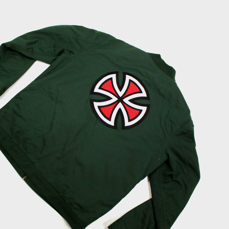 Supreme, Green Independent Bomber Sz. XL