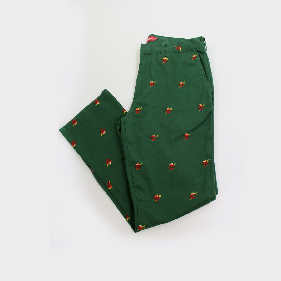 Supreme, Sacred Heart Work Pants Sz. 34