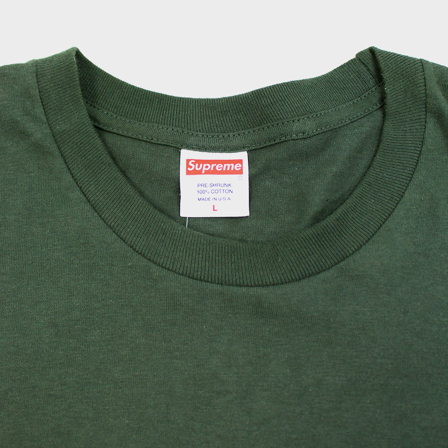 Supreme, Green Independent LS Sz. L