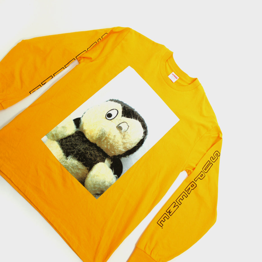 Supreme, Yellow Mike Kelley LS Sz. L