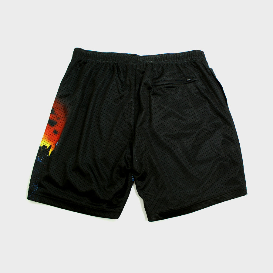 Supreme, Black Hellraiser Mesh Shorts Sz. M