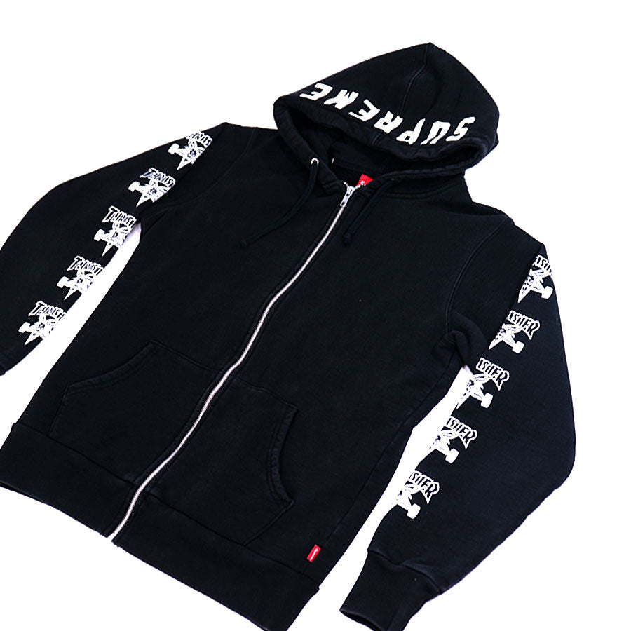 Supreme OG 2011 Thrasher Zip-Up Hoodie
