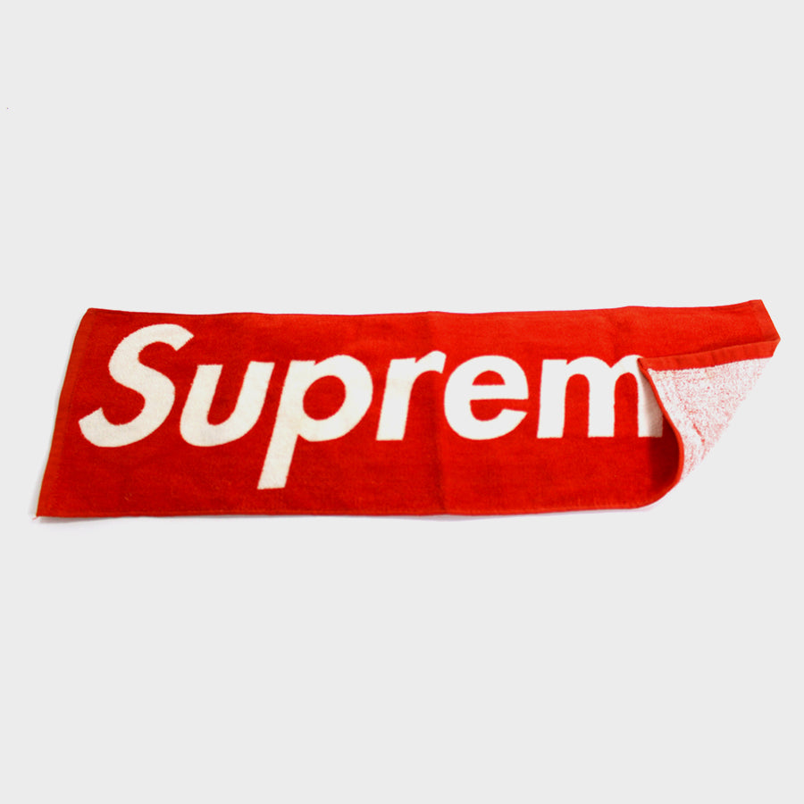Supreme, Red Mini Towel