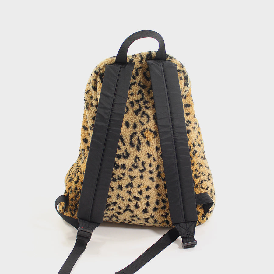 Supreme, Leopard Fleece Backpack