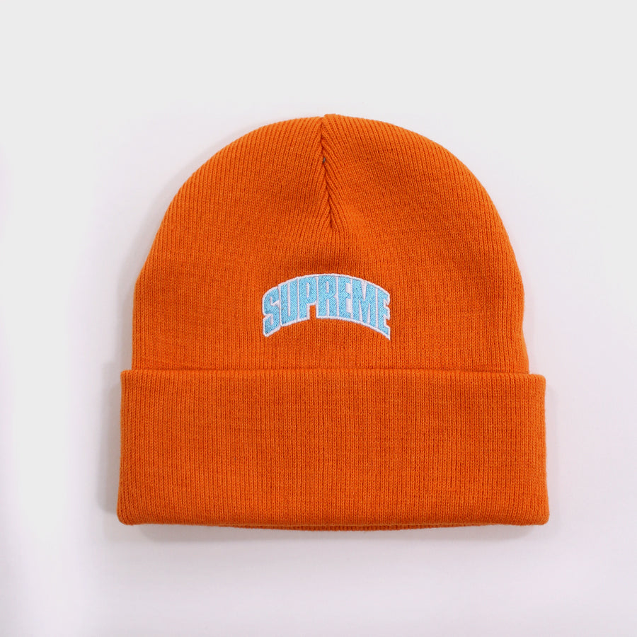 Supreme, Orange Crown Logo Beanie