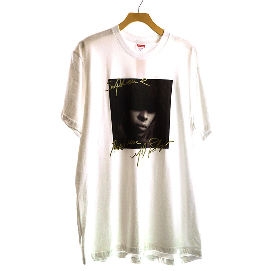 Supreme, White Mary J Bilge Tee Sz.L