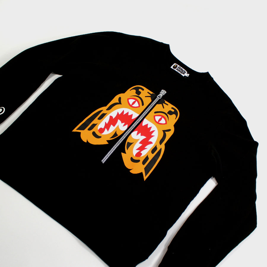 Bape, Black Tiger Crewneck Sz.XL