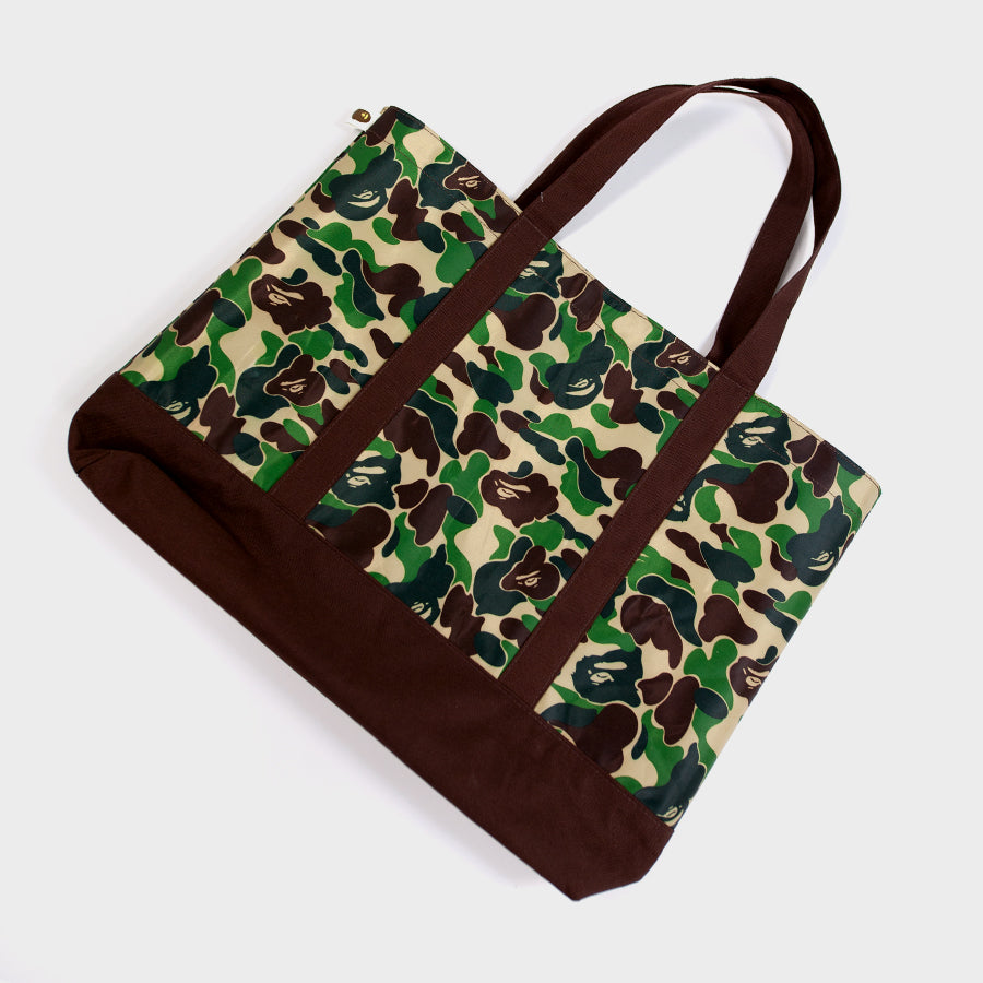Bape, Green Camo Tote Bag