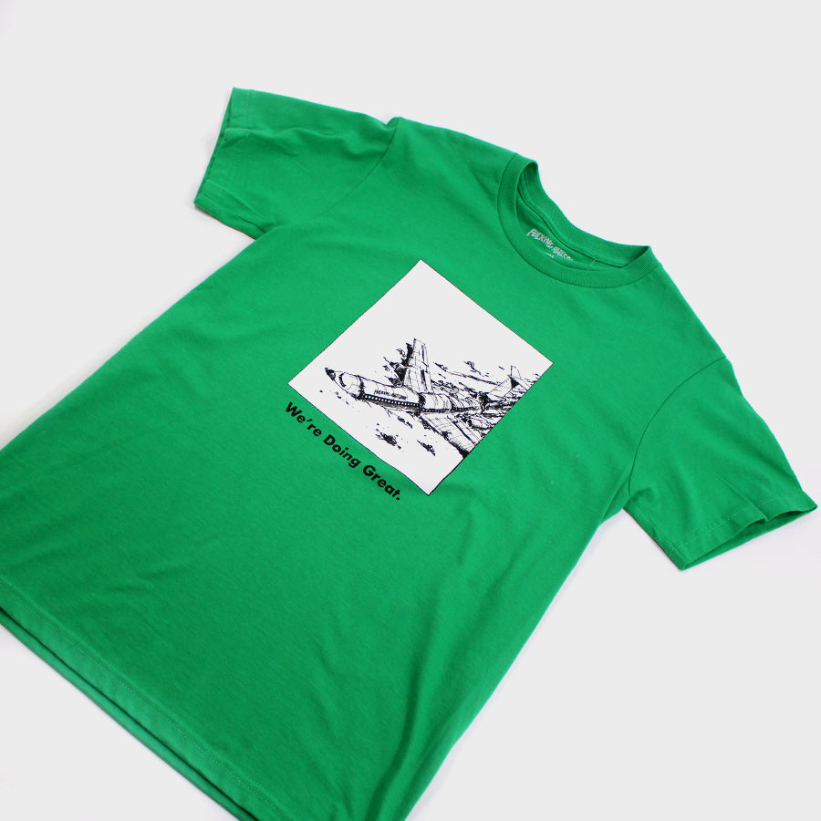 Fucking Awesome, Green Doing Great Tee Sz.S