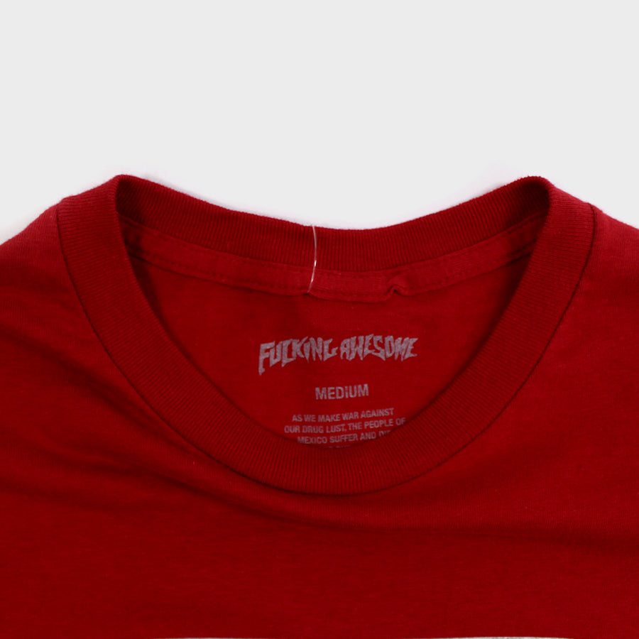 Fucking Awesome, Red UFO Tee Sz.M