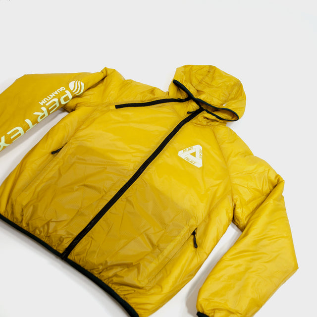PALACE, Yellow Pertex Teri-Ferg Jacket Sz.M