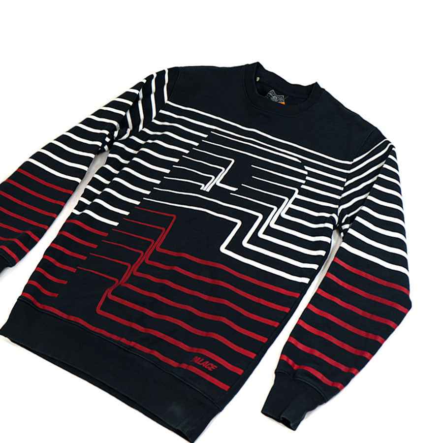 Palace Striper Crewneck
