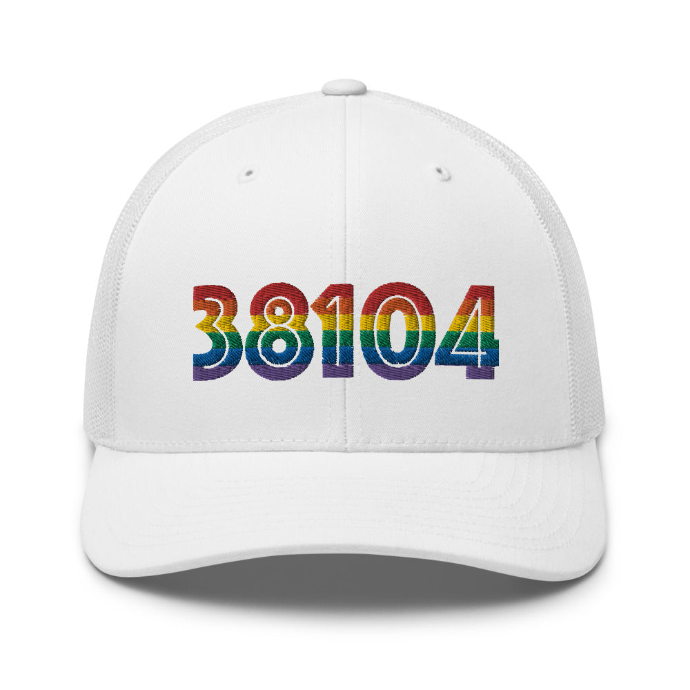 38104 Embroidered Trucker Cap