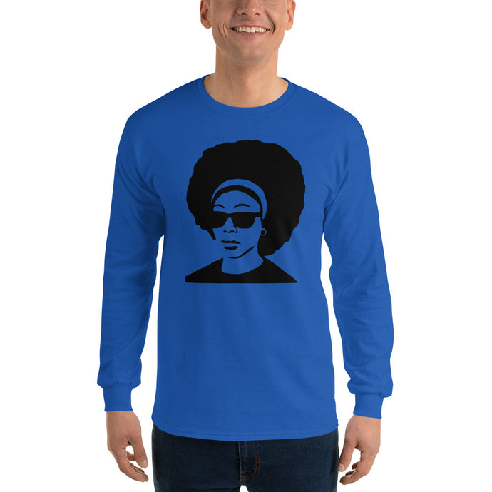 Afro DJ Long Sleeve T-Shirt