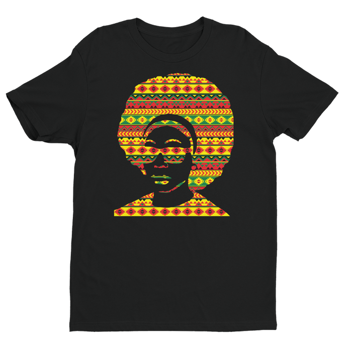 Tribal Style Afro T-shirt