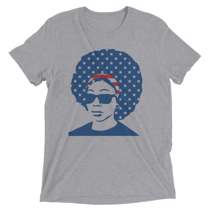 Afro 'Merica Short sleeve t-shirt